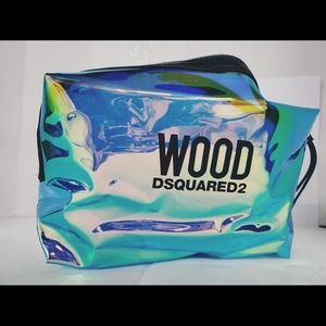 Wood Dsquared2 Cosmetic Bag